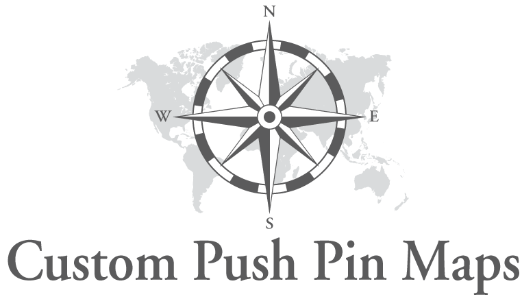 Custom Push Pin Maps